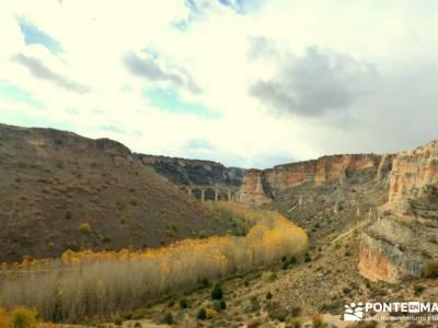 Hoces Río Riaza - Villa Ayllón; tiempo sierra de madrid circo de gredos ruta
